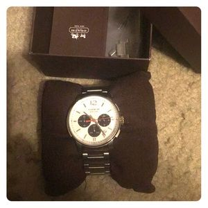 Men's Coach watch